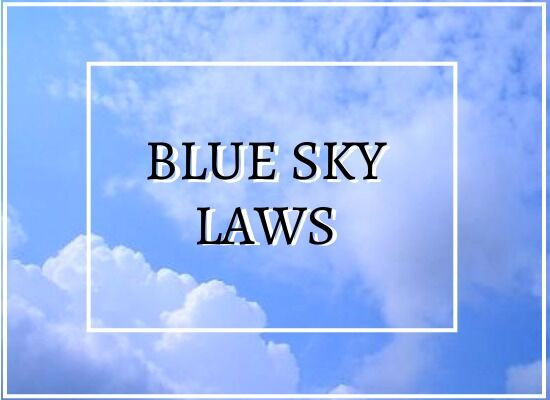 What are State Blue Sky Laws?