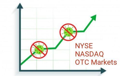 Covid-19 Relief Provided by NYSE, NASDAQ, OTC Markets